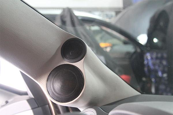 迢追寻好声音,改装德国喜力士三分频,顺德道声汽车音响改装