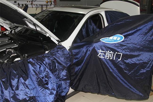 《隔音篇》中山英菲尼迪Q50L全车大能汽车隔音,静享汽车隔音的真实魅力――顺德道声汽车音响改装